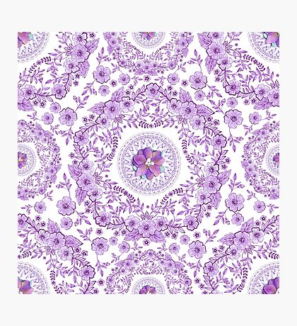 Ultra Violet Pretty Photographic Print
