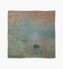 "Claude Monet ""Impression, sunrise"" Scarf"