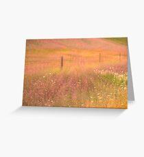 Pastoral Reverie Greeting Card