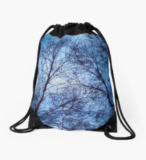 Bare Trees Drawstring Bag