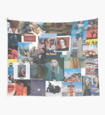Film, Music, and Art Collage Wall Tapestry