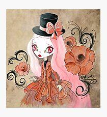 Goth Girl: Abigail Photographic Print