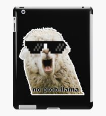 Deal with this Llama iPad Case/Skin