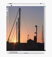 Harbour sunset iPad Case/Skin
