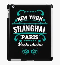 Meckenheim - Our city is not a Weltmertopole but you should. iPad Case/Skin