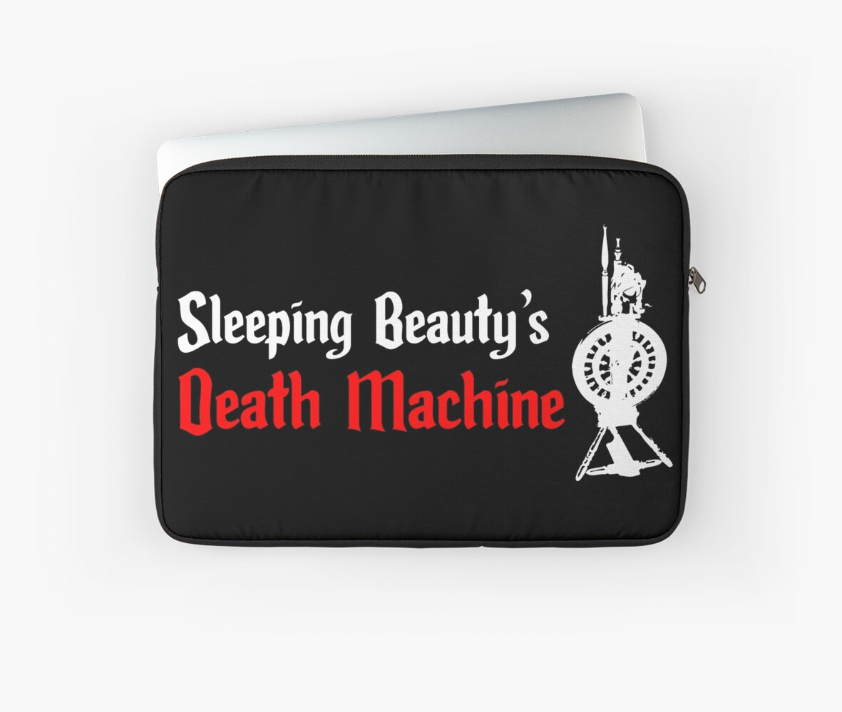 Sleeping Beauty's Death Machine by Amy Strickland