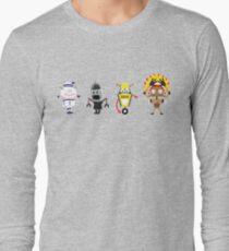 RETRO ROBOT YMCA Long Sleeve T-Shirt