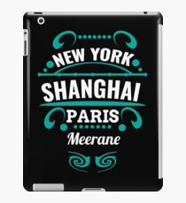 Meerane - Our city is not world mopeds, but it should. iPad Case/Skin