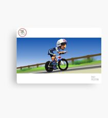 #PolyPeloton : Bradley Wiggins wins gold Canvas Print