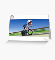 #PolyPeloton : Bradley Wiggins wins gold Greeting Card