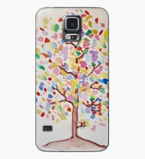 Tree of Many Colours Case/Skin for Samsung Galaxy