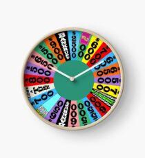 Wheel of Fortune Wheel Clock