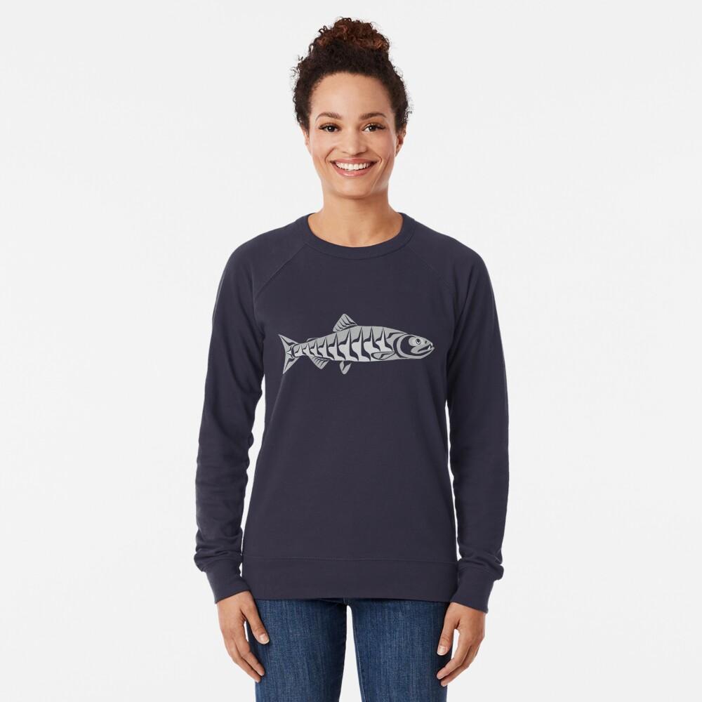 Dog Salmon  Lightweight Sweatshirt