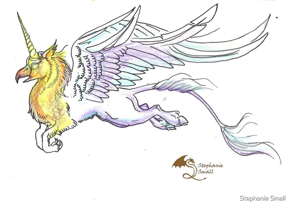 Unicorn Griffon Hippogriff Gryphon Griffin Horse Pony Pegasus Pegacorn Alicorn by Stephanie Small