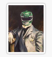 Formal Green Ranger Sticker