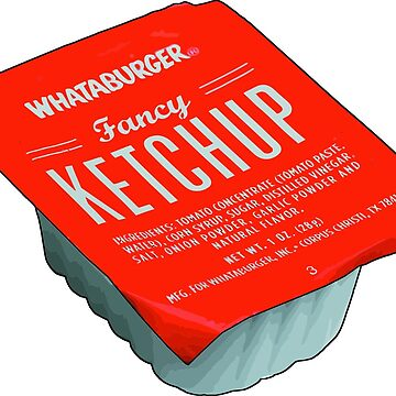 Whataburger Fancy Ketchup by notional