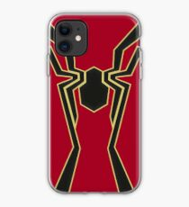 Iron Spidey Symbol iPhone Case