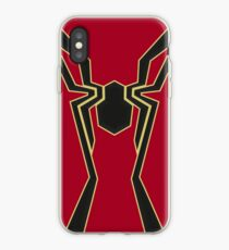 Iron Spidey Symbol iPhone Case