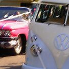 Groovy wedding cars by Bernadette Madden