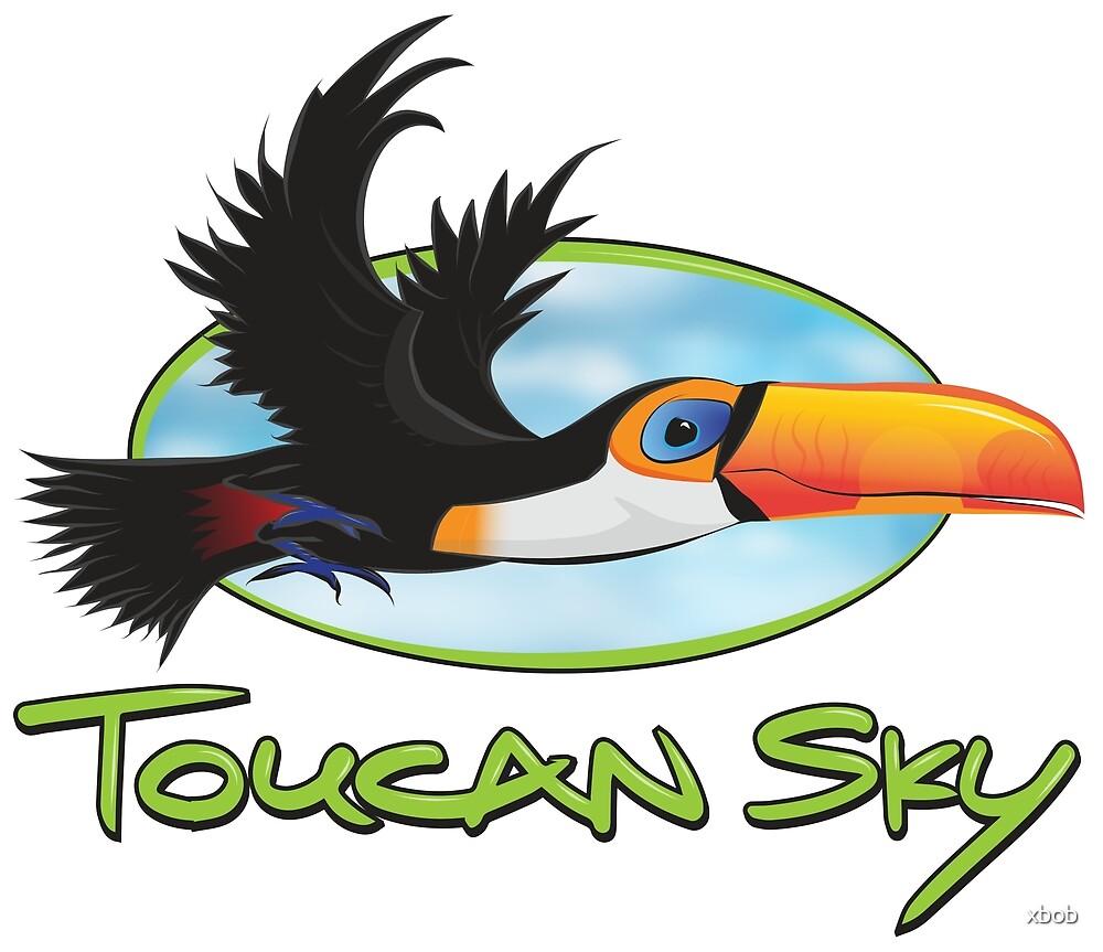 Toucan Sky by xbob