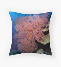 Gorgonian Throw Pillow