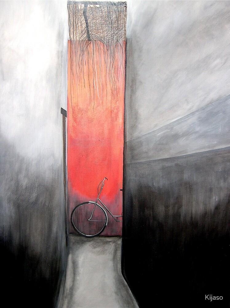 Red Wall by Kijaso