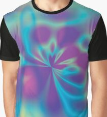 Oil Slick Psychedelic Graphic T-Shirt
