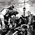 It's gonna be a gang fight! by John Little