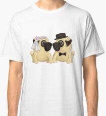 Wedding Pugs Classic T-Shirt