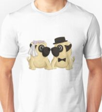 Wedding Pugs T-Shirt