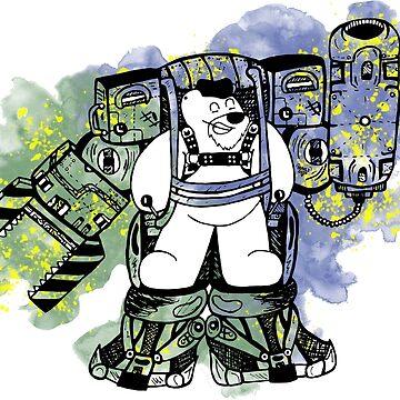Ripley Bear - LIMITED EDITION by BearlyGoin