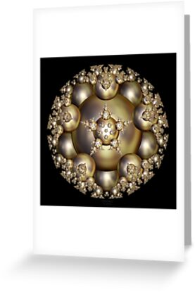 'Golden Pearl Cluster' by Scott Bricker