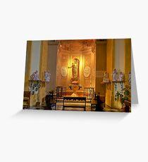 Collegiata of San Michele Arcangelo - Brisighella - Italy Greeting Card