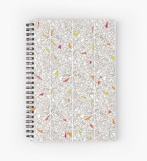 Little Triangles Pattern Spiral Notebook