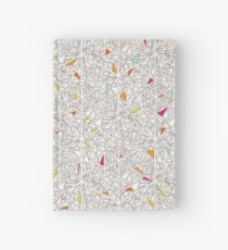 Little Triangles Pattern Hardcover Journal