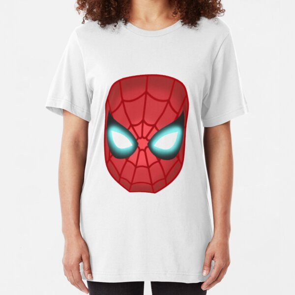 Iron Spider Mask Slim Fit T-Shirt