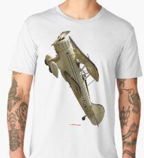 Plane & Simple - WACO biplane VH-YOW 2011 Men's Premium T-Shirt