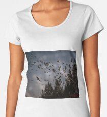 Lake Ginninderra around sunrise (Canberra/ACT/Australia) (11) Women's Premium T-Shirt