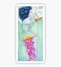 Jellyfish siren Sticker