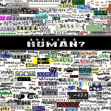Are You A Human / Captcha Verified / by CroDesign