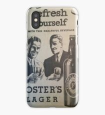 FOSTERS iPhone Case