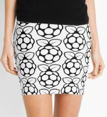 Raspberry Pi Black and white Mini Skirt