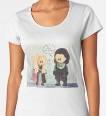 Jonerys Snowstorm Am I Your Prisoner? Women's Premium T-Shirt