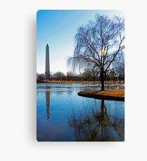 National Mall Reflections Canvas Print
