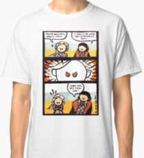 Jonerys Snowstorm Comic Strip Classic T-Shirt