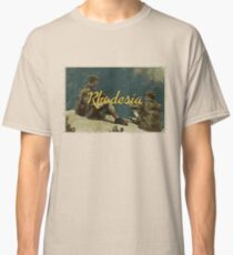 Rhodesia vintage postcard Classic T-Shirt