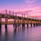 The Old Bridge at Sunset by peaky40