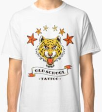 tatoo old school tee shirt white trending cute saying Classic T-Shirt