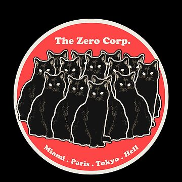The Zero Corp. - black cats gang logo by TheZeroCorp
