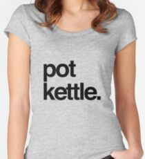 The Pot Kettle Edition Women's Fitted Scoop T-Shirt